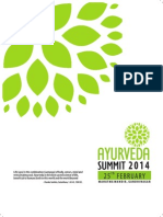2 1 Ayurveda Summit 2014
