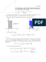 Examples Joint Pdfs Sol