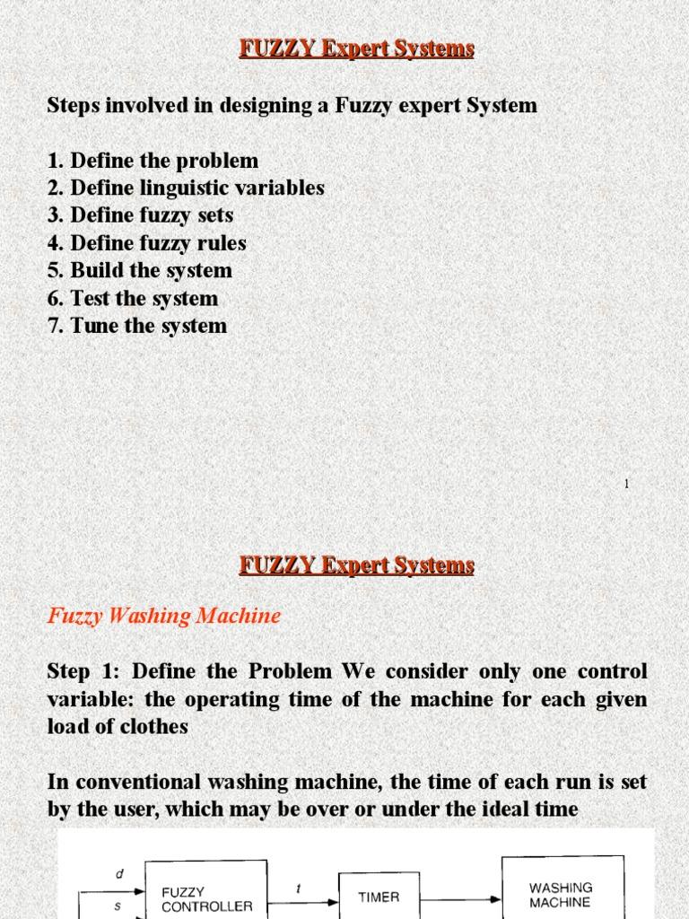 Fuzzy Expert Systems Fuzzy Logic Variable Mathematics