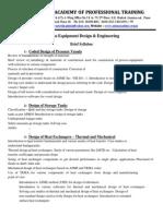 Process Equipment Design & Engineering New