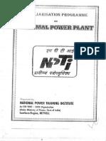 Thermal Power plant basics - NPTI