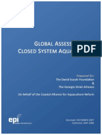 Closed System Aquac Global Review