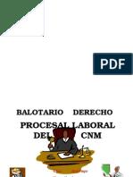 Balotario de Derecho Procesal Del Trabajo