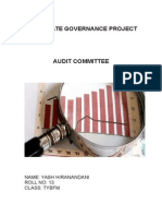 Corporate Governance Project