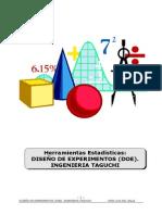 Diseño de Experimentos DOE-DPTaguchi