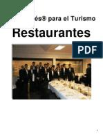 Auto Inglés Para El Turismo. Restaurantes
