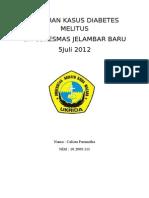 Laporan Kasus Diabetes Mellitus Sl 26