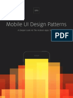 Uxpin Mobile Ui Design Patterns 2014