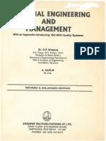 Industrial Engineering Book By Op Khanna Pdf