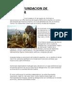 Fundacion de Arequipa