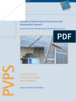Analytical Monitoring of PV Systems Final