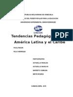 Tendencias Pedagógicas en América Latina y El Caribe Ysme