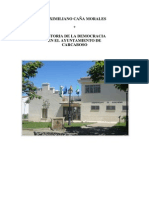 HISTORIA DE LA DEMOCRACIA EN CARCABOSO
