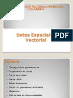 Datos Espaciales Vectorial