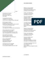 Letras Canciones Ensayo