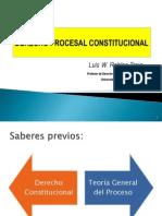 Derecho Procesal Constitucional garantias y procesos contitucionales