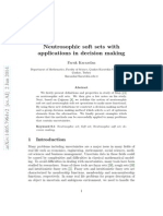 Neutrosophic soft sets with applications in decision making