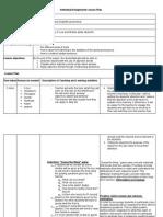 adjektif lesson plan