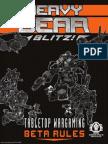 HeavyGearBlitz Tabletop Wargaming Beta Rules eBook