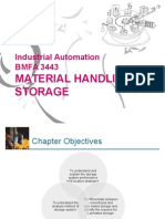 Lecture Notes - Week 5 Material Handling - Storage