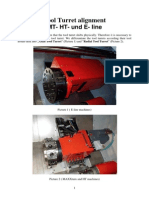 Alignment of the Tool Turret MT-HT-E en V2x