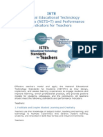 Nets-t (matirces for teachers' and students' assessment