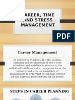 Career, Time and Stress Management