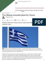 Two dismal economic plans for Greece - FT.pdf