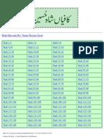 Shah Hussain's Poetry