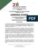 Programa de Gobierno Diego Olegario Arcos Insuasty 2016 - 2019