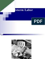 Preterm and PROM