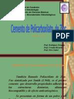 Cementos de Policarboxilato
