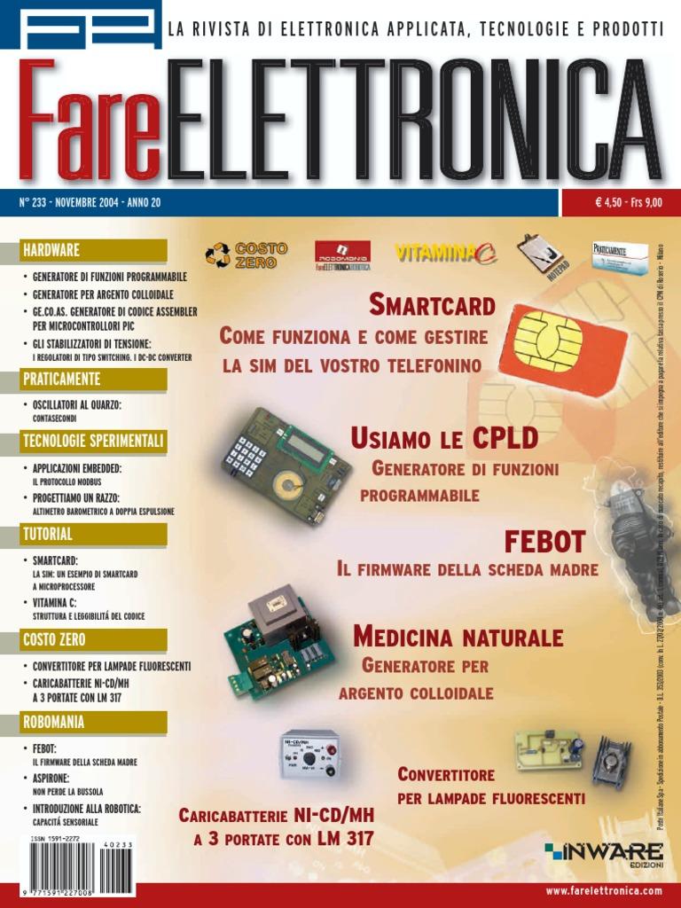 fare elettronica fe 233 pdf