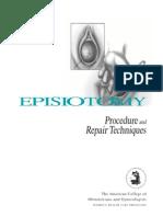 Episiotomy ACOG