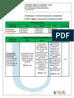 Rubrica Analitica de Evaluacion 301301
