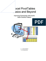 Pivottables Basics and Beyond