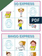 Cartones variados Bingo y Listado de Emociones-para Imprimir