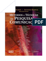 Métodos e Técnicas de Pesquisa Em Comunicação Jorge Duarte e Antônio Barros