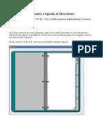vfp 08 - creando un organizador o agenda de direcciones