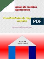 Charla Titulizaciones 15.10.03 Bcn