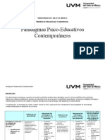 Paradigmas Psico-Educativos Contemporáneos