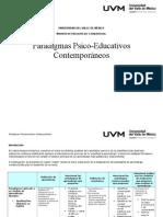 Paradigmas Psico-Educativos Contemporáneos