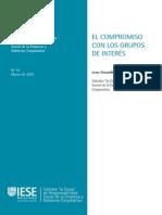 Lec-comp-2da Sem- El Compromiso Con Los Grupos de Interés