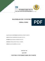 Relatório de Materiais de Construções - Granulometria
