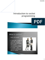 1 - Introduction to Socket Programming