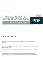 The Solo Parents_ Welfare Act of 2000