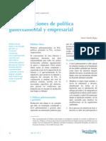 Dialnet-RecomendacionesDePoliticaGubernamentalYEmpresarial-4835811