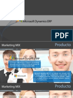 Marketing Mix Microsoft Dynamics ERP