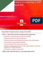 Ian-Daniel-Royal Mail SAP User Group Presentation November 2012-Final