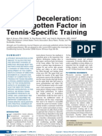 Efficient Deceleration the Forgotten Factor in.5